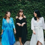 Rachel Ramos, Lorenza Pozza e Mariana Peres